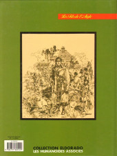 Verso de Les fils de l'aigle -4- Capucine