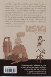 Verso de Usagi Yojimbo -HS1- Usagi yojimbo