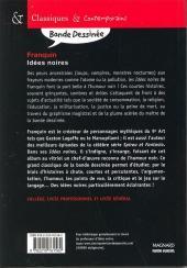 Verso de Idées noires - Tome Sco