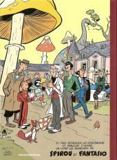 Verso de Spirou et Fantasio (Une aventure de.../Le Spirou de...) -5TL- Le groom vert-de-gris