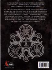 Verso de Kurokami Black God -12- Tome 12