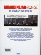 Verso de Ahmadinejad atomisé