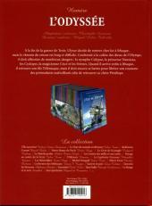 Verso de Les incontournables de la littérature en BD -10- L'Odyssée