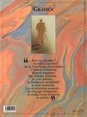 Verso de Nuit blanche -2- Le rossignol de Koursk