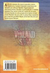 Verso de Vinland Saga -6- Tome 6