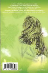 Verso de A romantic love story -6- Tome 6