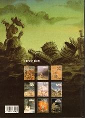 Verso de Pacush Blues -9- Neuvaine : Relecture du mythe de Frankenstein - renaissance