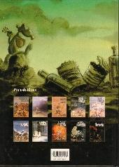 Verso de Pacush Blues -10- Décimation : Remords - Relecture du mythe de Frankenstein: remords