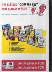 Verso de Pompon Rouge (Les Aventures du) -9a- Les six lances du colonel Tramble