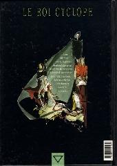 Verso de Le roi Cyclope -1- Le puits aux morts