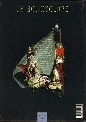 Verso de Le roi Cyclope -2- Les sept frères