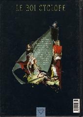 Verso de Le roi Cyclope -3- Griselda