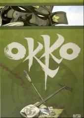 Verso de Okko -TL3- Le cycle de l'air - I & II