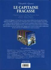 Verso de Les incontournables de la littérature en BD -11- Le Capitaine Fracasse