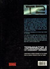 Verso de Terminator -3- Le jugement dernier