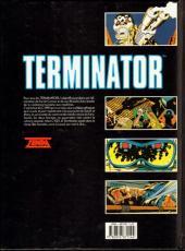 Verso de Terminator -4- Objectif secondaire 1