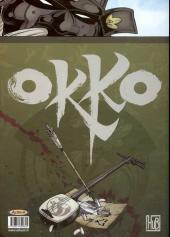 Verso de Okko -TT3- Le cycle de l'air - I & II
