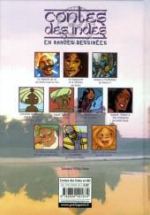 Verso de Contes du monde en bandes dessinées - Contes des Indes en bandes dessinées