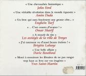 Verso de Illustré (Le Petit) (La Sirène / Soleil Productions / Elcy) - Le Cheval illustré de A à Z
