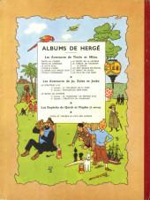 Verso de Tintin (Historique) -10B06- L'étoile mystérieuse