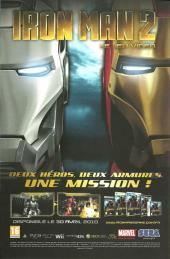 Verso de Astonishing X-Men (kiosque) -60- La guerre du messie (2/4)