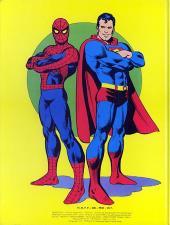 Verso de Superman (Sagédition - Présence de l'avenir) -1a- Le combat du siècle ! Superman contre Spider-Man