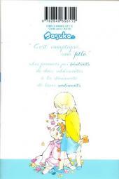 Verso de Fleurs bleues -1- volume 1