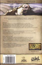 Verso de Warcraft Legends -3- Volume 3