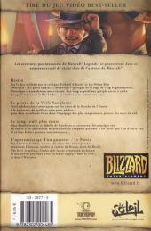 Verso de Warcraft Legends -4- Volume 4