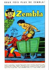 Verso de Zembla (Spécial) -17- Numéro 17