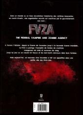 Verso de FVZA (Federal Vampire & Zombie Agency) -1- Tome 1