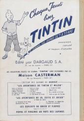Verso de (Recueil) Tintin (Album du journal - Édition française) -34- Tintin album du journal