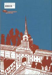 Verso de Les ravins - Neuf jours à Saint-Pétersbourg