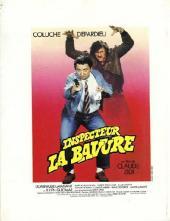 Verso de Inspecteur la bavure - Inspecteur La Bavure
