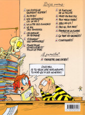 Verso de L'Élève Ducobu -16- Confisqués !