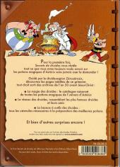 Verso de Astérix (Autres) -Pub06- Secrets de druides