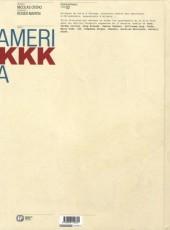 Verso de Amerikkka -INT2- Edition Intégrale - Tome 02