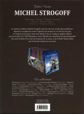 Verso de Les incontournables de la littérature en BD -14- Michel Strogoff
