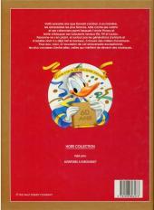 Verso de Walt Disney (Dargaud) - Bon anniversaire Donald - Le Livre d'or de ses meilleures histoires