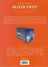 Verso de Les incontournables de la littérature en BD -15- Oliver Twist
