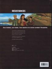 Verso de Résistances -1- L'Appel