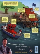 Verso de Les sauveteurs en mer -1- Alertes à Pen Dru