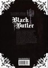Verso de Black Butler -4- Black Racer