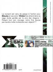 Verso de Full Metal Panic! Sigma -10- Tome 10
