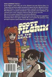 Verso de Scott Pilgrim -2- Scott Pilgrim VS the World