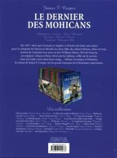 Verso de Les incontournables de la littérature en BD -16- Le Dernier des Mohicans