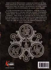 Verso de Kurokami Black God -13- Tome 13