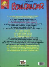 Verso de Bouldaldar et Colégram -5- Le château féerique (Libre Junior 3)