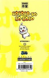 Verso de Bobobo-bo Bo-bobo -15- Tome 15