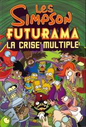 Verso de Les simpson/Futurama -FL- La crise multiple
